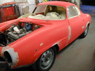 Alfa Sprint Speciale Restoration