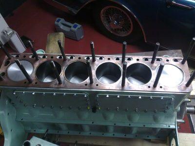 Talbot Lago Engine