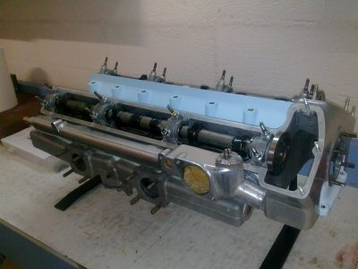 Jaguar XK150 engine rebuild