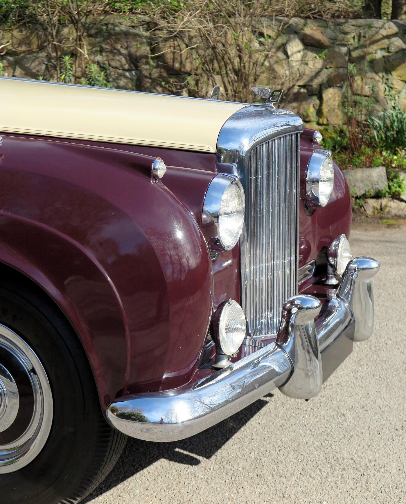 Classic 1936 Bentley 4 Derby Sports Saloon Sedan Saloon: 1955 Bentley S1