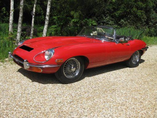 1969 Jaguar E-Type Roadster – SOLD