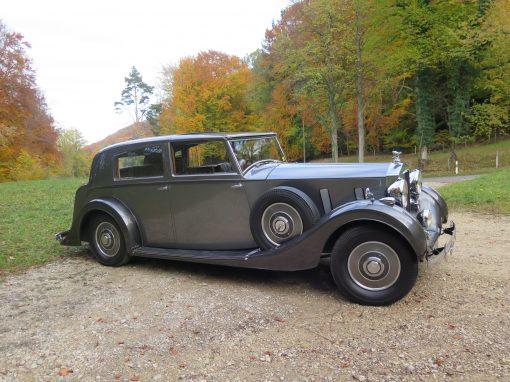 For Sale 1937 Rolls-Royce Phantom 3 – NOW SOLD!