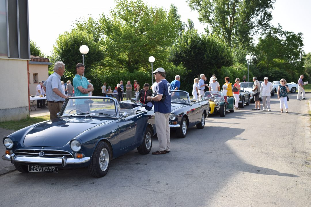 Classic Car Rally SW France