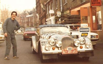 Morgan MWP 60T in the 1980 Monte Carlo Rally