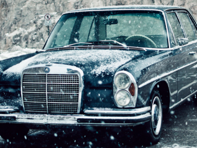 Winter Mercedes